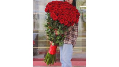 #000 Розы-Гиганты (130см)