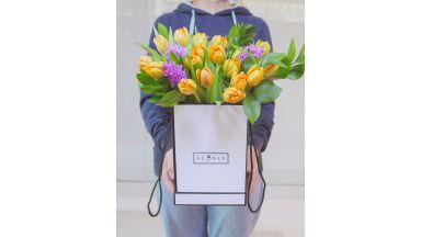 Тюльпаны в коробке #6