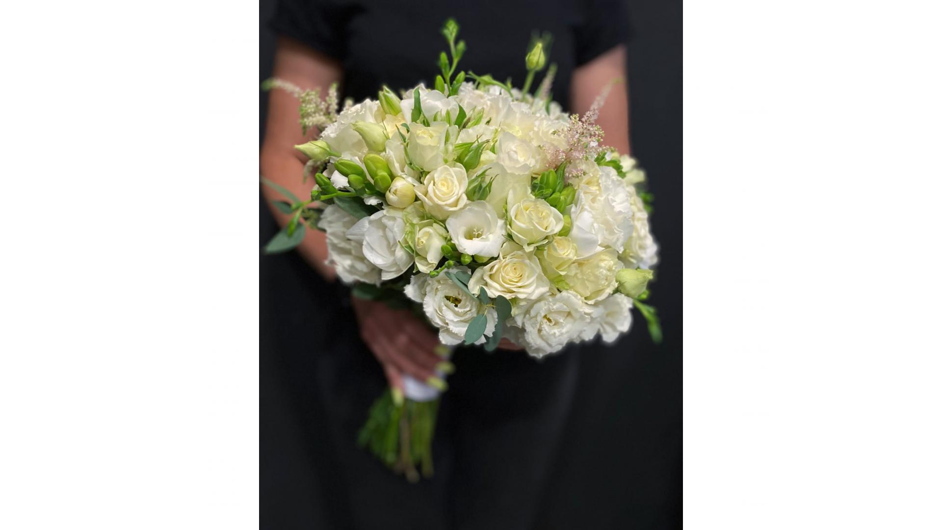 Свадебный букет #002