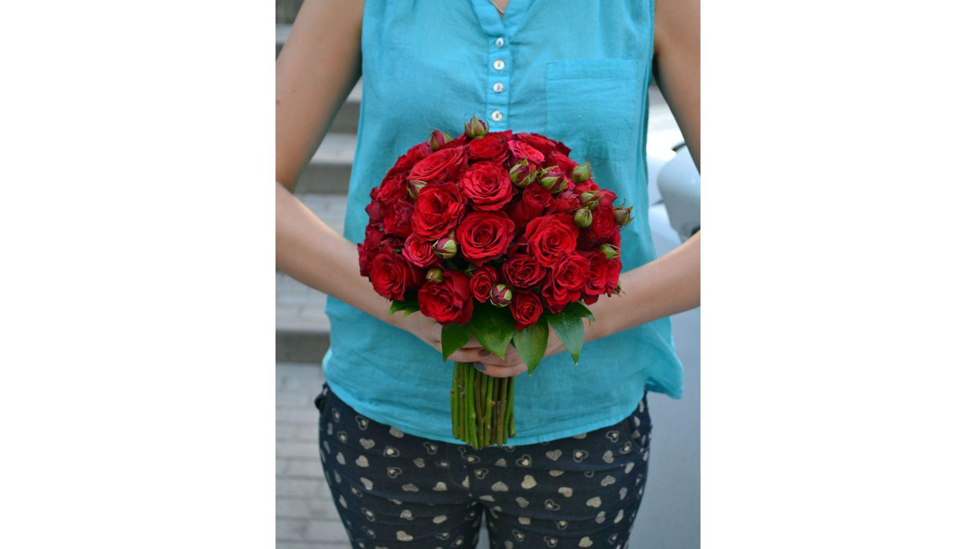 Букет из роз #45