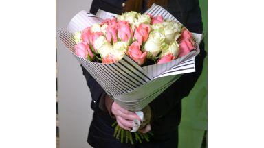 Букет из кенийских роз #7